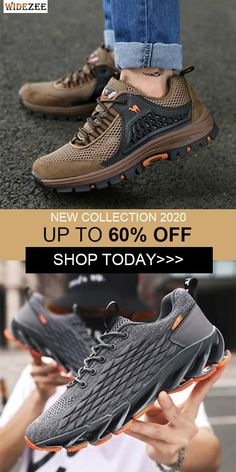Men Mesh Breathable Toe Protecting Lace Up Sneakers Tag Heuer Calibre 5, Chic Outfits, Fashion Outfits, Cigarette Brands, Men's Shoes, Athletic Shoes, Mesh, Lace Up, Toe