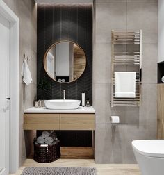 Home Interior Colour .Home Interior Colour Bad Inspiration, Bathroom Inspiration, Bathroom Design Luxury, Home Interior Design, Bathroom Spa, Small Bathroom, Toilet Design, Amazing Bathrooms, Herringbone Tile
