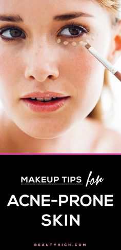 makeup tricks for sensitive and acne-prone skin