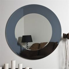 Gallery Website Shop Decor Wonderland Camilla Round Modern Bathroom Mirror at Lowe us Canada Find our selection of bathroom mirrors at the lowest price guaranteed with