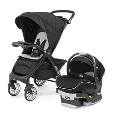 The Bravo LE Trio Travel System from Chicco makes traveling with your child in and out of a car easy and convenient. Versatile duo adapts to your child's growth and includes the innovative Bravo LE Stroller and the top-rated KeyFit 30 Zip Infant Car Seat.