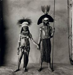 Young Enga Couple (New Guinea) | From a unique collection of portrait photography at https://www.1stdibs.com/art/photography/portrait-photography/