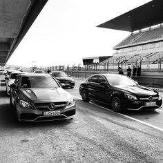 While comfortable on any road the AMG C63 and C450 AMG Sport come alive on the…