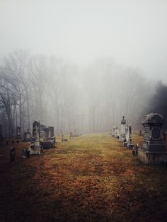 Cemeteries and Fog
