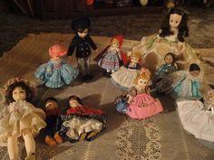 Lot of 12 Madame Alexander Dolls Various Sizes #MadameAlexanderDolls #Dolls