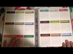Erin Condren 2014 Life Planner Review & How I Stay Organized!