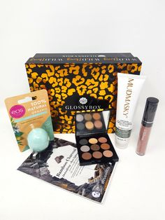Glossybox Beauty Box May 2020 – Unboxing and Product Reviews | Bonds of Beauty Eos, Kiss Proof, Beauty Box Subscriptions, Subscription Boxes, Liquid Lipstick, Eyeshadow Palette, Lip Balm, Eos Lip Balm, Budget Binder