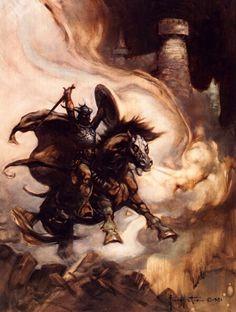 Cavaleiro negro O Fantástico Frank Frazetta