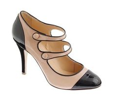 I'm obsessed with Mary Janes and I love these! Mona-Two-Toned-Patent-Mary-Janes