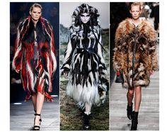 La tendance mode Fourrures excentriques automne-hiver 2014 2015