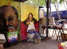 feira de livros da Plaza Italia - BsAs - estantedeviagens