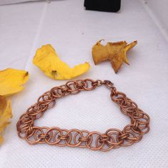 Copper Helms Chain Bracelet on Etsy, $15.00 CAD