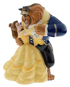 Belle and the Beast Cookie jar