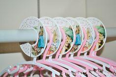 Peter Rabbit Girl Nursery, Beatrix Potter Closet divider, Girl closet divider, Baby Closet Dividers, Closet Organizer, Baby shower gift C251 by AnniesChicBowtique on Etsy