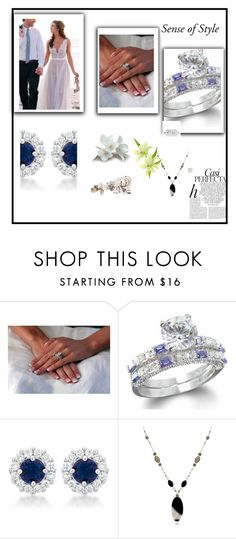"""""""Ring by SenseofStyle"""" by lejla150 ❤ liked on Polyvore featuring Whiteley"""