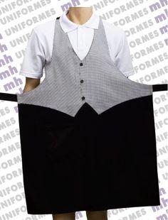 Victorian Aprons, Waitress Outfit, Restaurant Uniforms, School Uniform Fashion, Cute Aprons, Jeans Fabric, Sewing Aprons, Apron Designs, Sewing Basics