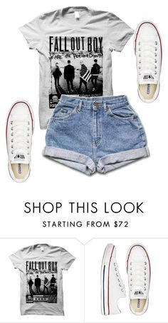 """Untitled #569"" by deima-835 ❤ liked on Polyvore featuring Converse"