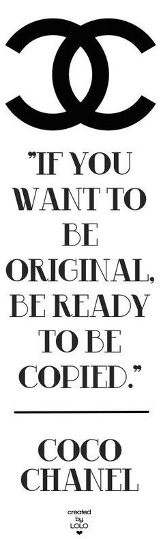 Fashion Quote - Coco Chanel #fashion #quote