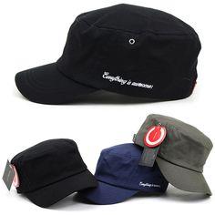Mens Womens Plain Classic Army Military Cadet Patrol Castro Adjustable Cap Hats #hellobincomENTER #CadetPatrolCastroCapHats