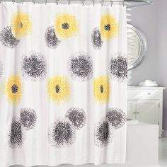 product image for Blossum Fabric Shower Curtain