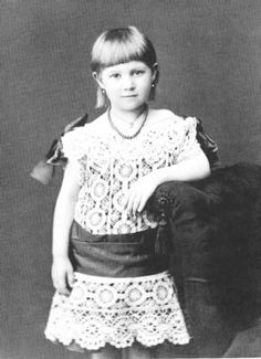 Portrait : Marie Bonaparte daughter and only child of Prince Roland
