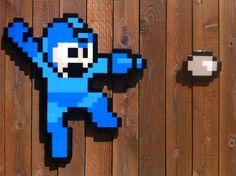 Art Work | The Wooden Arcade – Custom 8-Bit Wooden Pixel Art