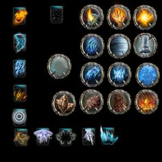 icons GUI game #gamedesign