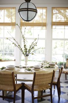 A gorgeous tablescape for a beautiful day's meal