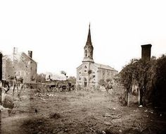 photograph of Warrenton, Virginia. Church.  It was created in 1862 by Gardner, James, b. 1832.
