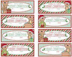 Merry Christmas Wishes, 12 Days Of Christmas, Christmas Tag, Christmas Ideas, Xmas, Welcome New Teachers, Holiday Crafts, Holiday Ideas, Christmas Gift Tags Printable