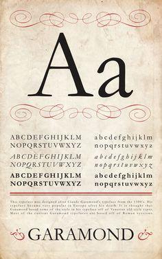 old style type specimen