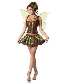 Sexy Adult Enchanting Fairy Costume | Cheap Fairy Sexy Halloween Costume