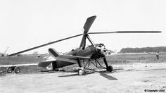 Pitcairn PCA-2 was built in the 1930s and was the first autogyro
