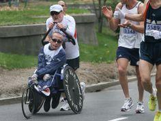 Team Hoyt to Run Last Boston Marathon