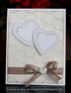 Stampin Nerd: Spring Mini - Hearts a Flutter Neutral