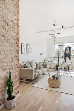 Pale neutrals in a small space.