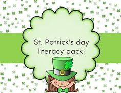 My St. Patrick's day literacy pack! is the perfect game for your literacy center! This pack includes variety of uppercase and lowercase letter matching games . This activity is really simple and fun! it can be implemented at any time of the day. This game is intended to build each child's literacy skills, whether