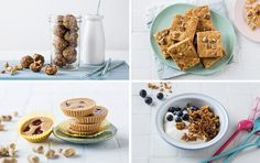 4 ways with peanut butter