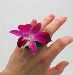 Dendrobium Blossom ring