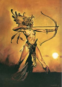 Art of Fantasy Esteban Maroto Fantasy Women, Fantasy Rpg, Fantasy Girl, Fantasy Artwork, Pinup, Amazons Women Warriors, Statues, Templer, Sword And Sorcery