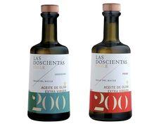 Las Doscientas Arbequina and Picual Chilean Extra Virgin Olive Oils
