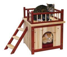 Maisonnette pour chat d'intérieur_0