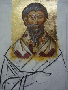 xamist / art & theology Religious Paintings, Byzantine Icons, Orthodox Icons, Art Boards, Fresco, Style Icons, Workshop, Art Deco, Museum