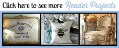 Wonderful site to help with upcycling. Refinished French Stand - Reader Feature - The Graphics Fairy