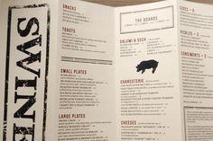 Art of the Menu: Swine