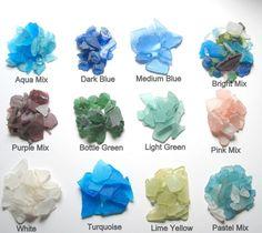 Seaglass Color Chart