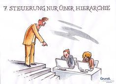 """Sie denken, dass Führung nur über Hierarchie läuft? In Teil 7 der Blogreihe """"10 Mythen der Führung"""" auf """"Führen & Wirken"""" erfahren Sie, wie eine wirkungsvolle Führungskraft richtig agiert. http://www.fuehren-und-wirken.de/fuehrung-laeuft-nur-ueber-hierarchie/"""