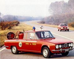 Firefighting Alfa Romeo style ... from the 70's