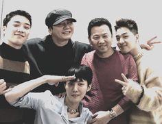 Seungri de BIGBANG y Yang Hyun Suk le desean antes de alistarse a G-Dragon que le vaya bien - Soompi Spanish