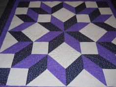 """Carpenter's Star Quilt by """"DianneK"""" from the quiltingboard.com"""